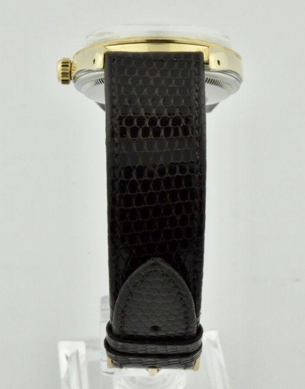rolex black lizard band