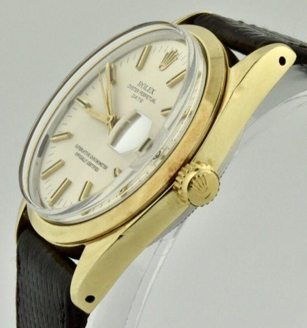 vintage rolex 1550 crown