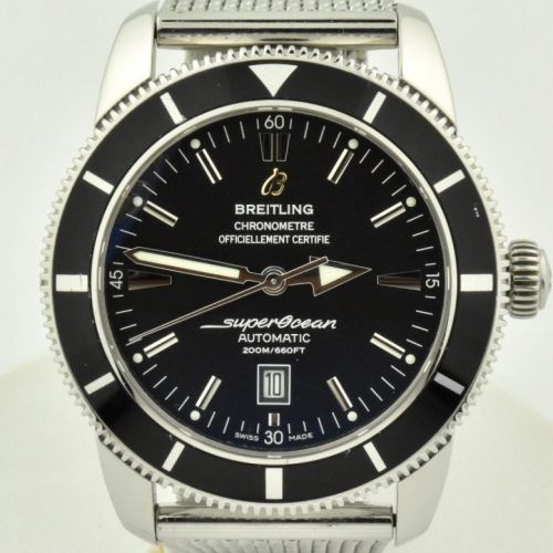 Breitling Superocean Heritage 46mm Black dial a17320