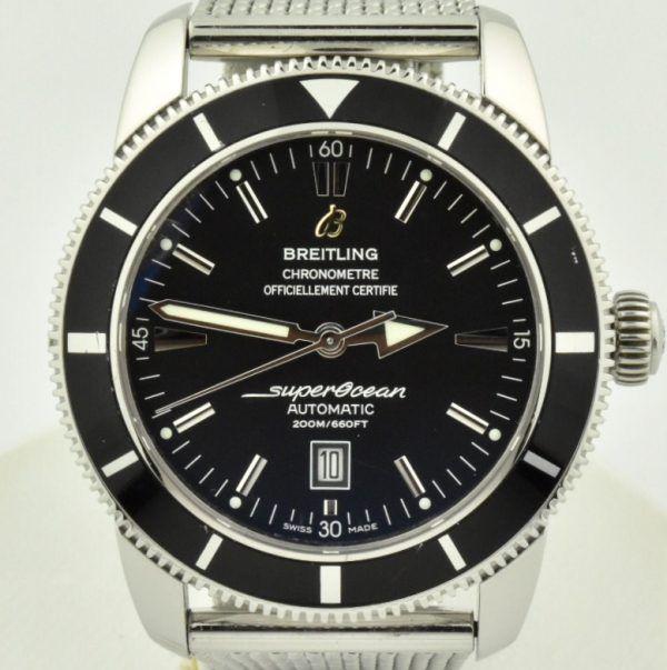 Breitling Superocean Heritage 46mm Black dial a17320