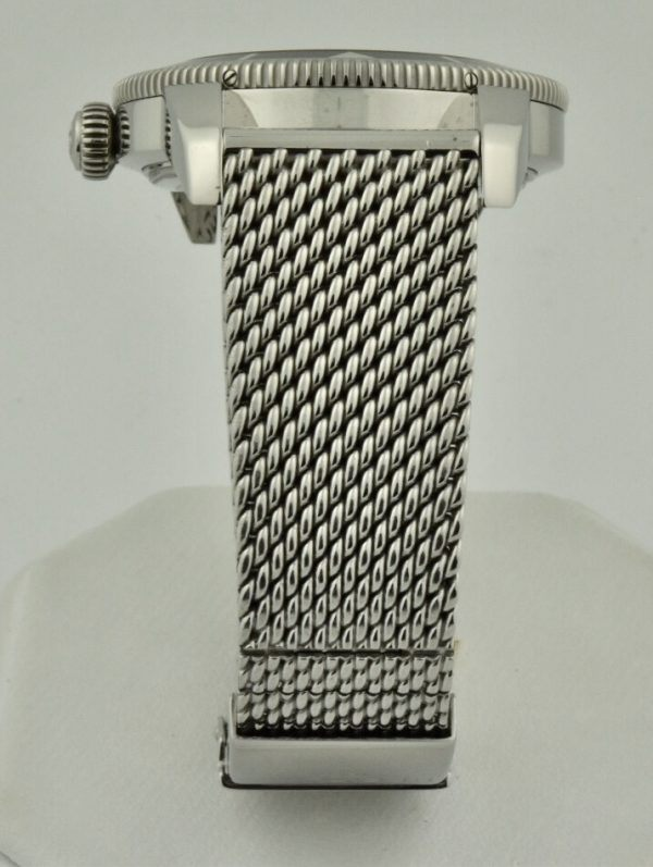 breitling stainless steel mesh band