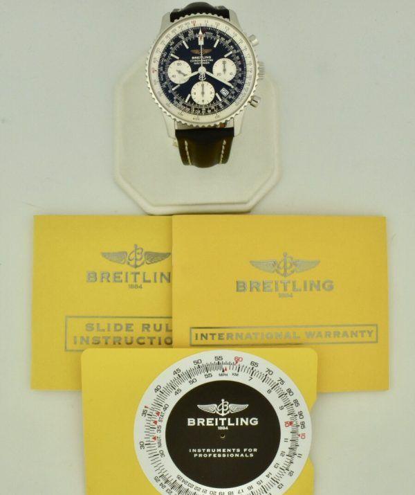 breitling navitimer a23322 black dial