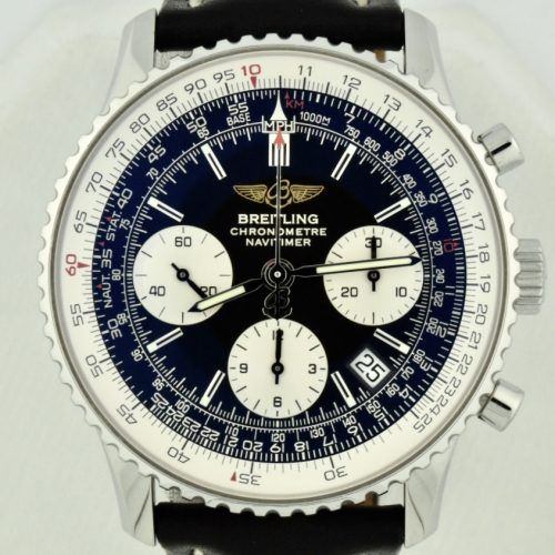 Breitling Navitimer A23322 Stainless Steel 42mm Black Dial for sale