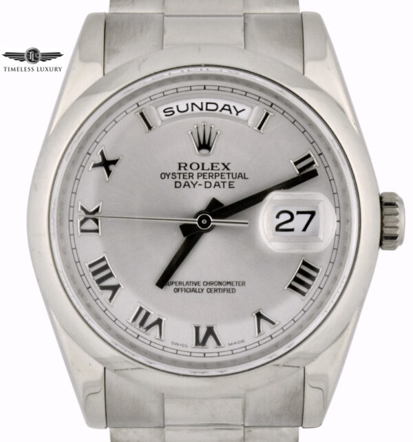 Rolex day-date president 118209 white gold for sale