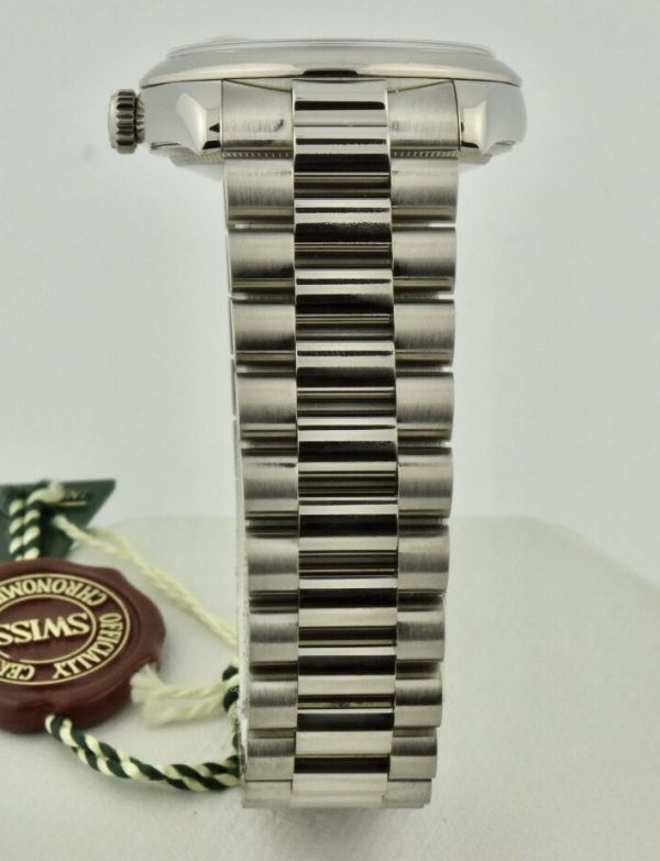 rolex 118209 band 18k white gold