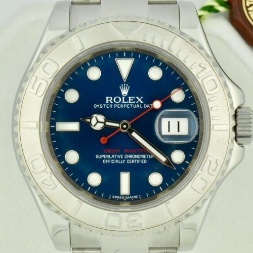 Rolex Yachtmaster 116622 blue dial for sale