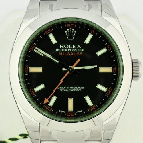 Rolex Milgauss 116400GV Black dial for sale new