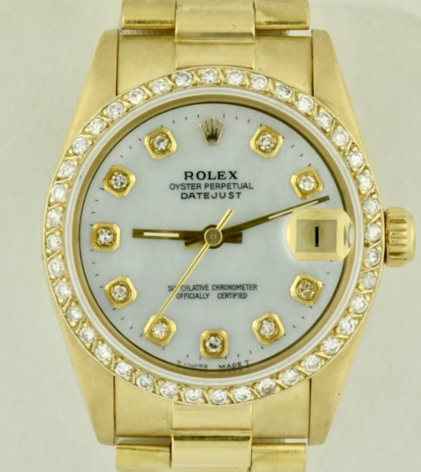 lady rolex president 31mm for sale