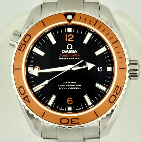 Omega Seamaster Planet Ocean 600m Orange Bezel for sale