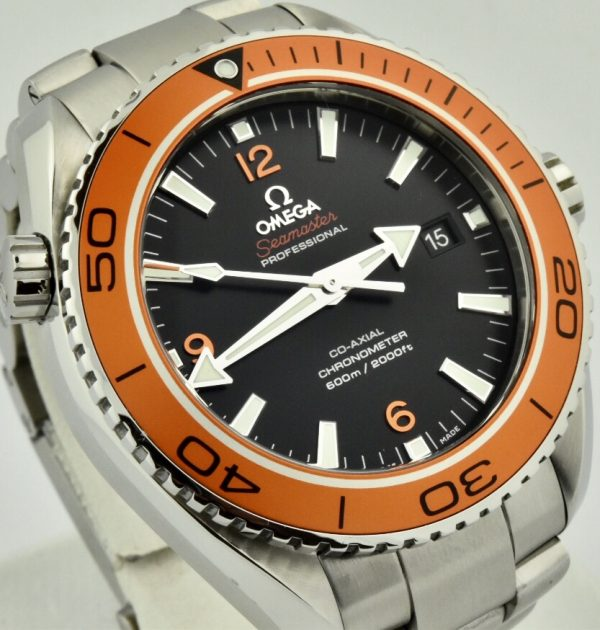 omega seamaster orange bezel for sale