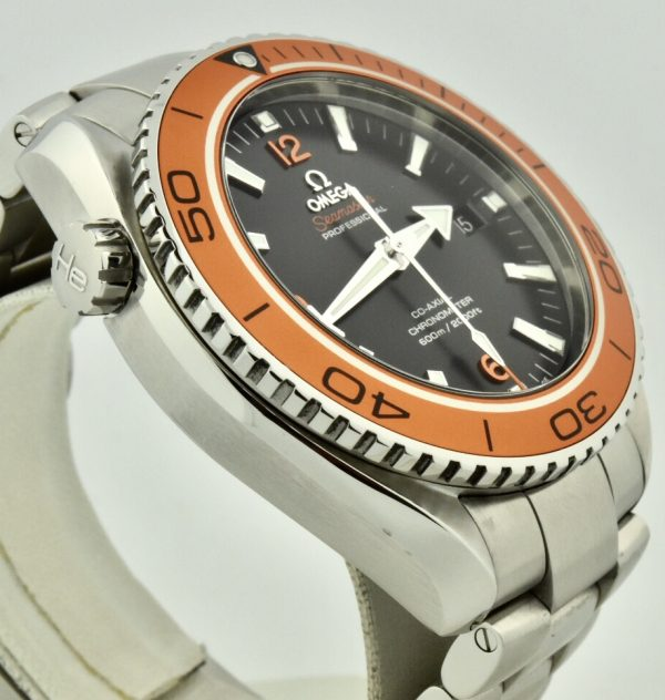 omega seamaster 600m orange