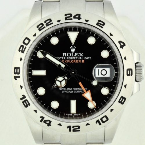 Rolex explorer II 216570 black dial 42mm for sale