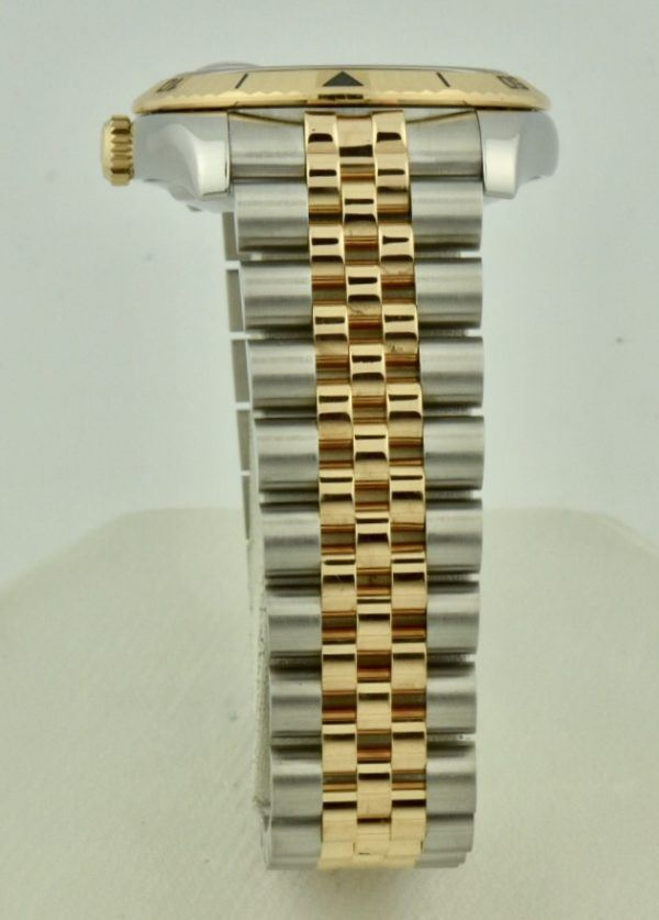 rolex datejust rose gold jubilee band