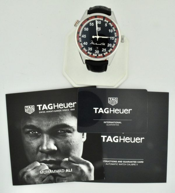 tag heuer Muhammad Ali watch for sale