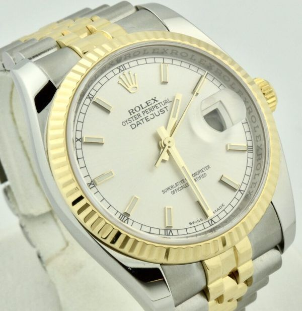 2007 Rolex datejust two tone for sale atlanta