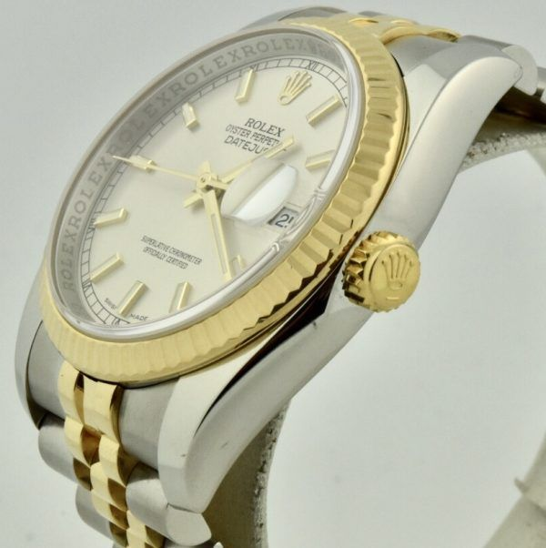 rolex datejust 116233 crown