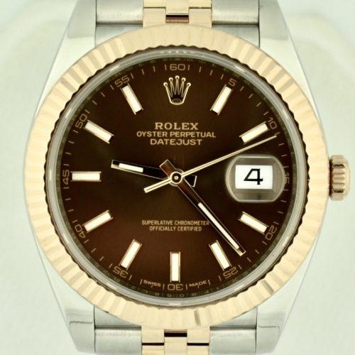 Rolex Datejust 41 Steel & rose gold 126331