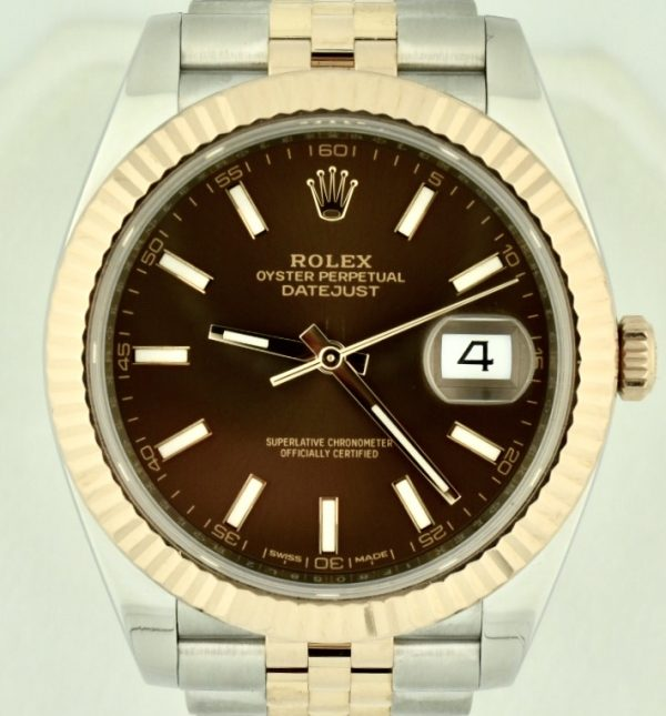 Rolex Datejust 41 Steel & rose gold 126331