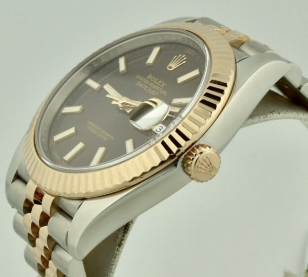 rolex 126331 rose gold crown