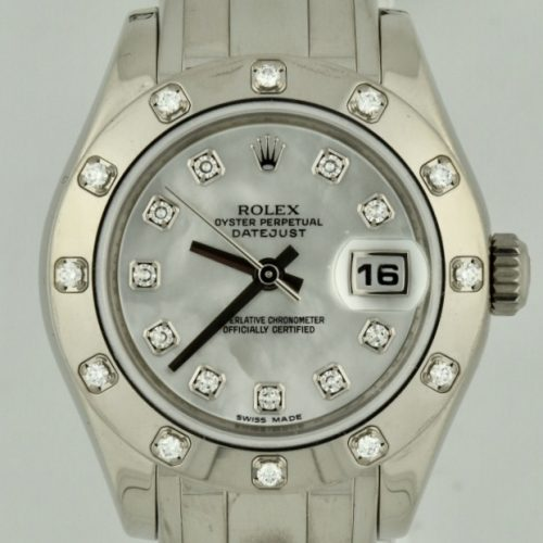 Rolex pearl master 80319 mop dial for sale