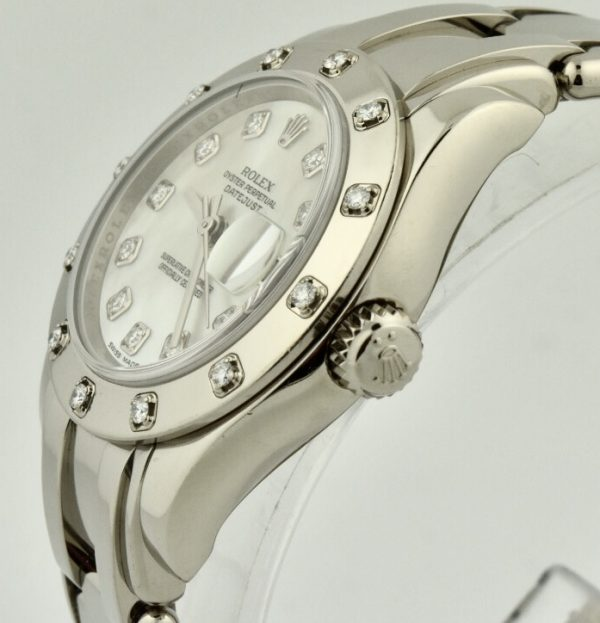 rolex pearlmaster 18k white gold