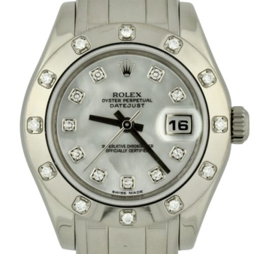 ladies rolex pearlmaster 80319