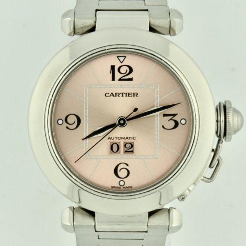 Cartier Pasha C Midsize 2475 Pink Dial