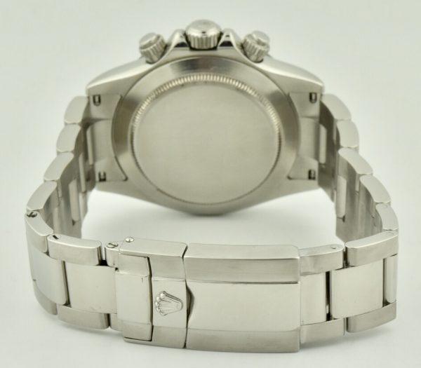 rolex Daytona stainless steel clasp
