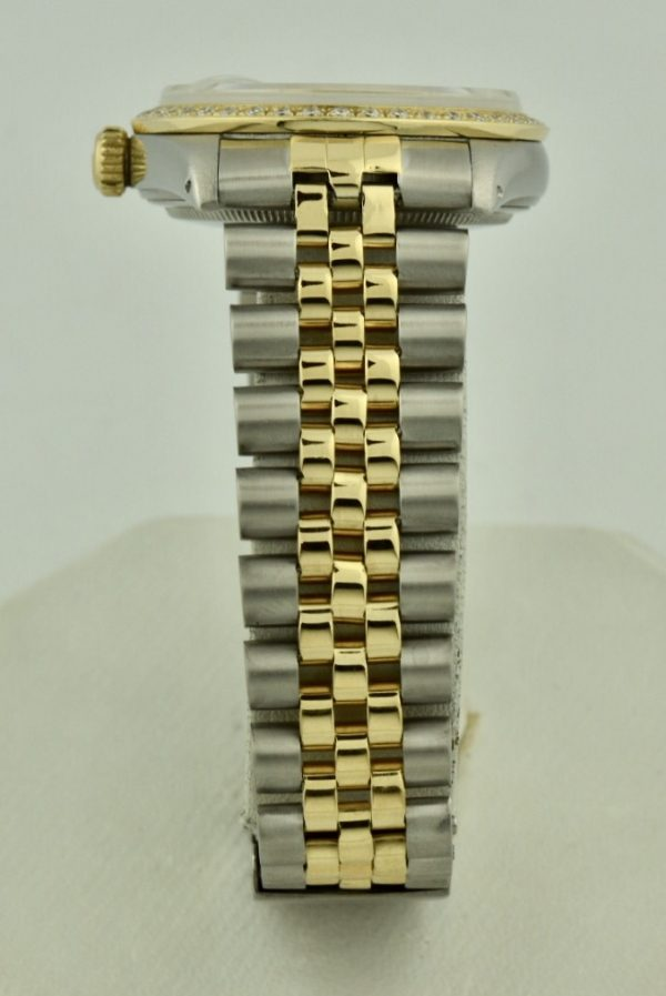 rolex jubilee band steel and gold