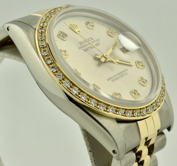 rolex 16013 diamond bezel