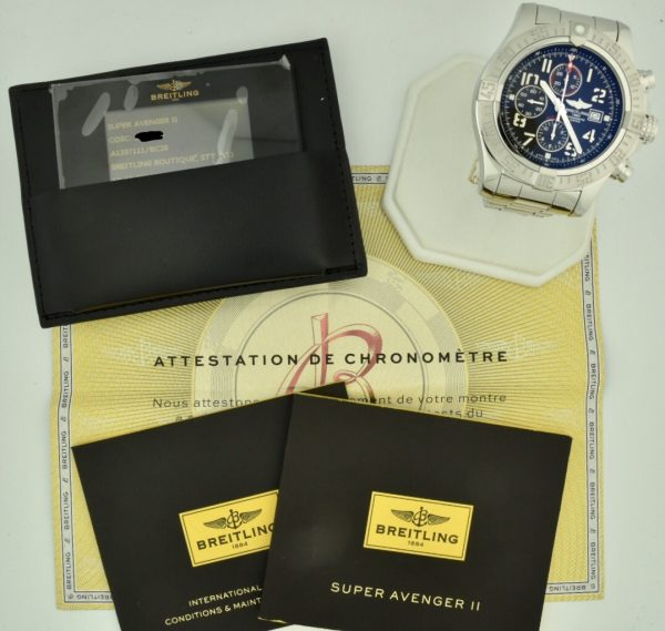 breitling super avenger a13371 for sale