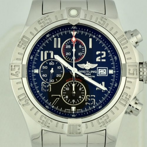 Breitling super avenger II A13371 for sale