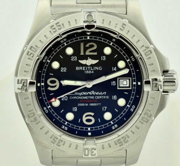 Breitling superocean steelfish a17390 for sale