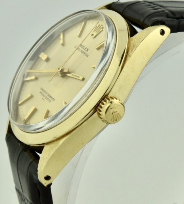 rolex 1024 gold crown