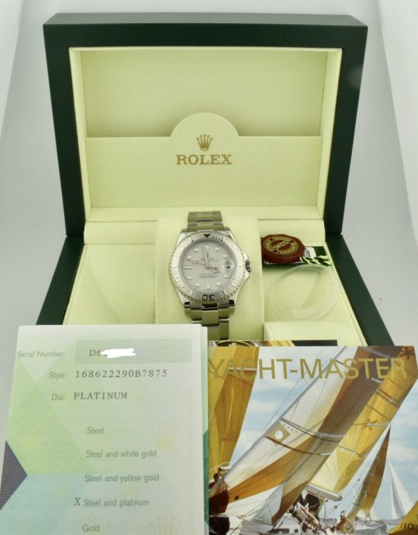 rolex midsize yachtmaster 168622 for sale