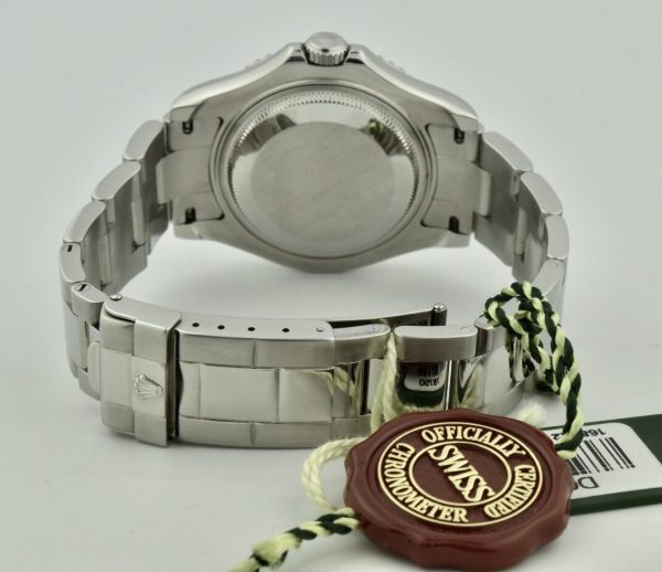 rolex yachtmaster steel clasp