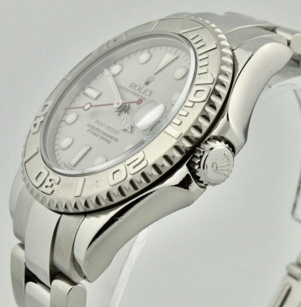 rolex yachtmaster 168622 crown