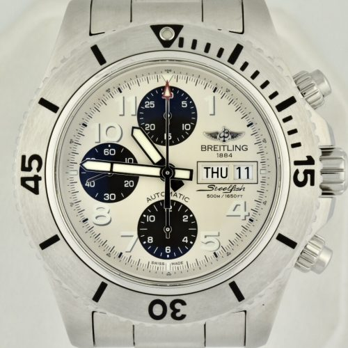 Breitling superocean chronograph a13341 for sale
