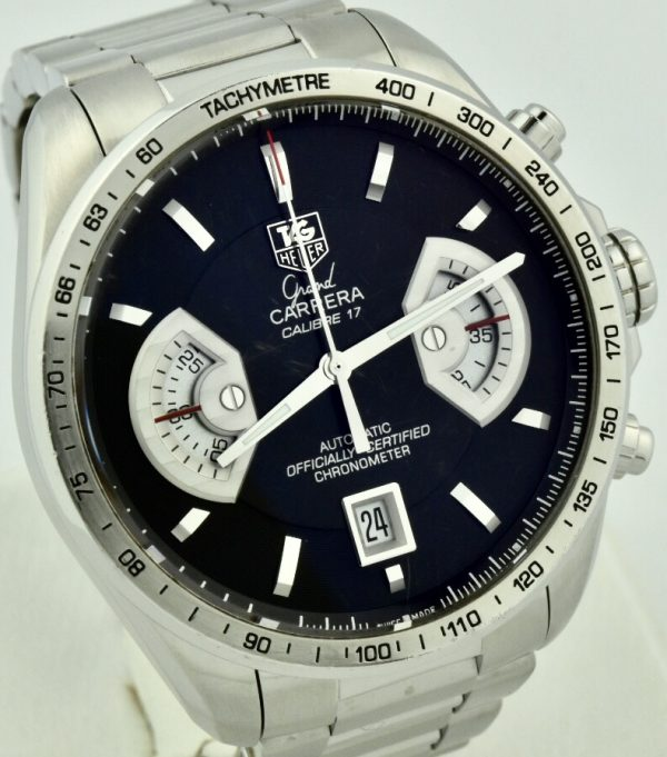 tag heuer grand carrera calibre 17 for sale
