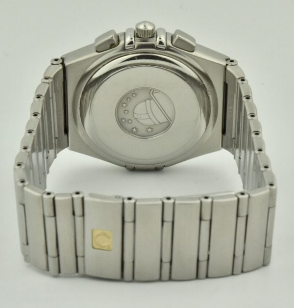 omega constellation steel case