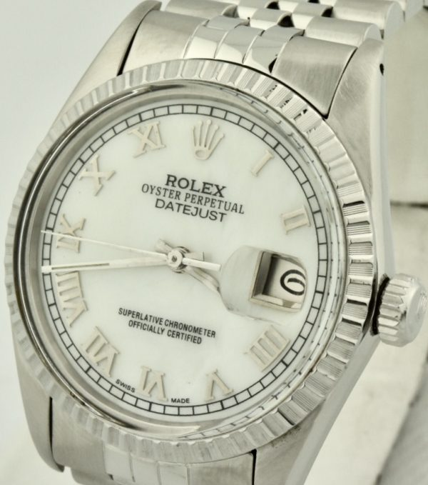 rolex datejust mother of pearl dial