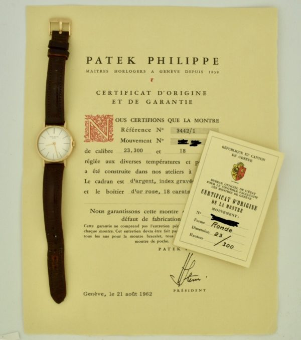 1962 vintage patek philippe for sale