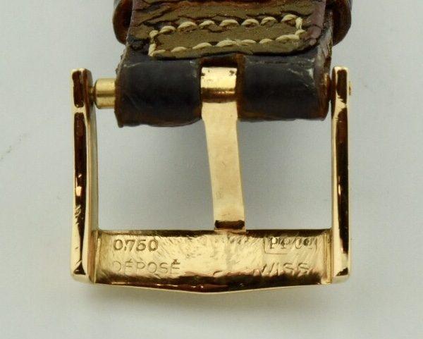 patek 18k gold clasp
