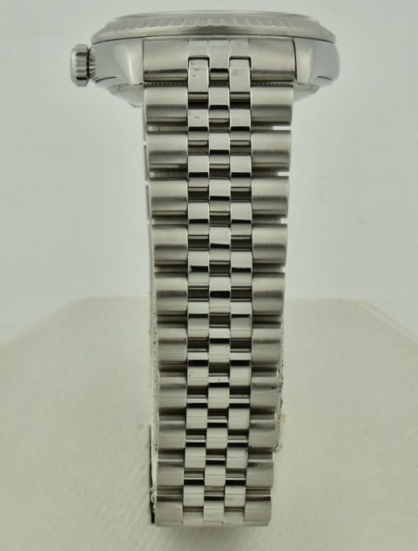 rolex datejust stainless band