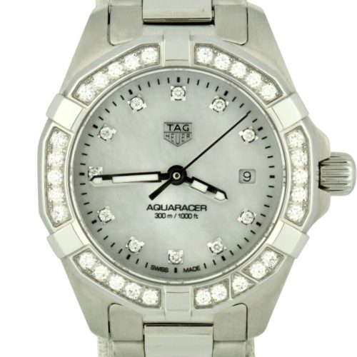 ladies tag heuer aquaracer diamond WBD1415