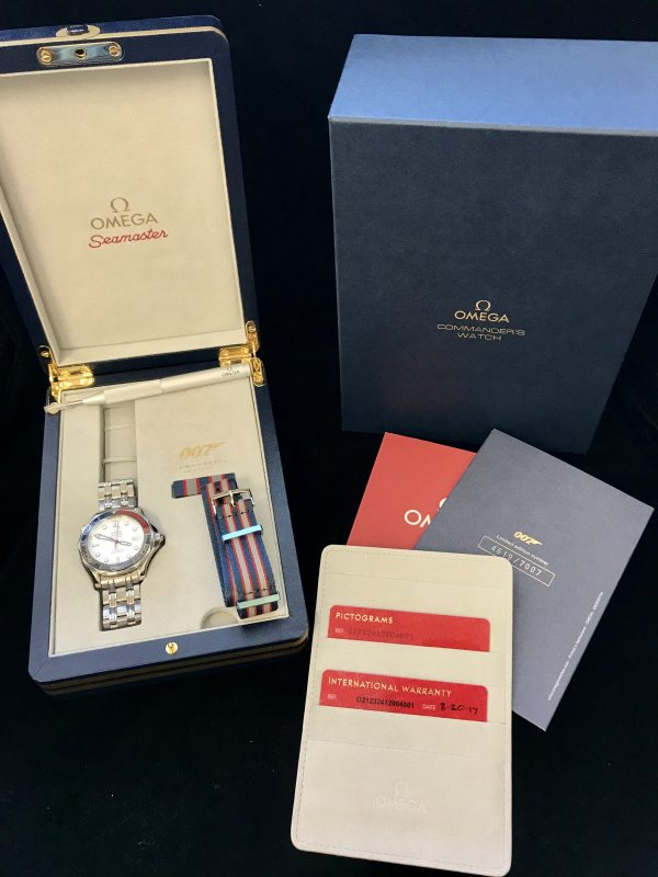 omega seamaster limited edition James Bond 21232412004001