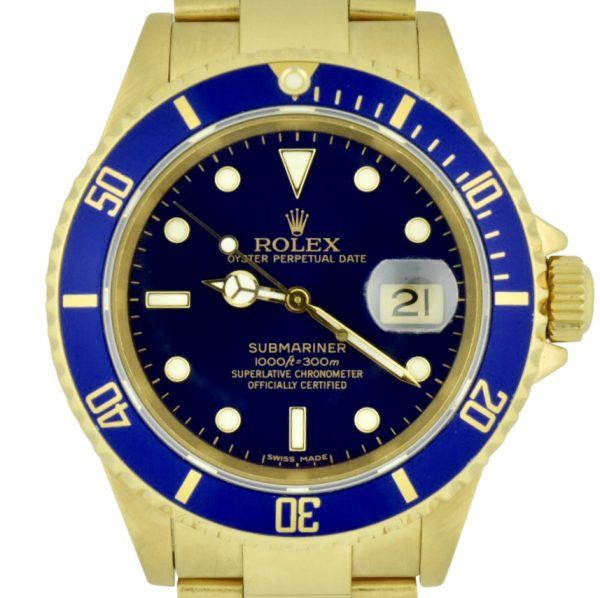 gold rolex submariner for sale 16618
