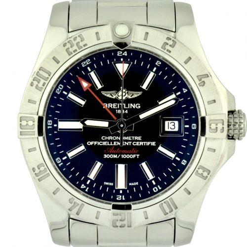 Breitling avenger II a32390 black dial