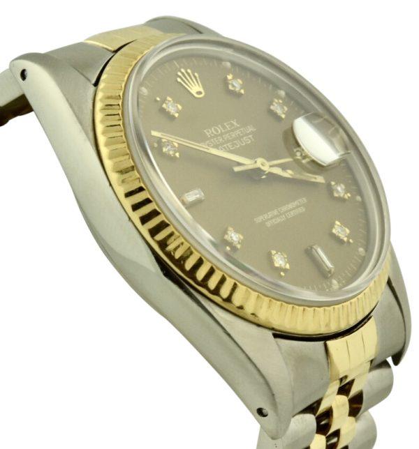 1982 rolex datejust diamond dial