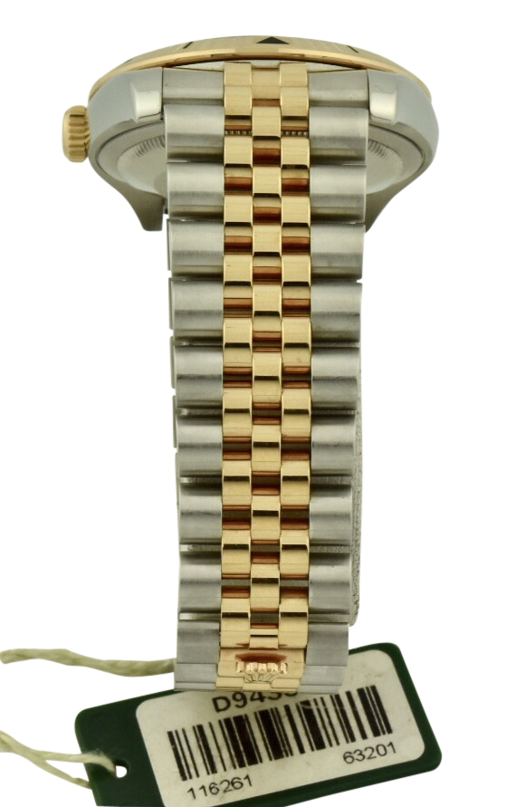 rolex 116261 steel and rose gold jubilee band